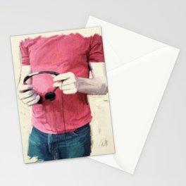 Headphones Stationery Cards