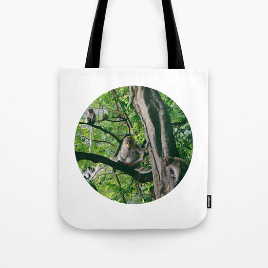 Mountain Monkeys Tote Bag