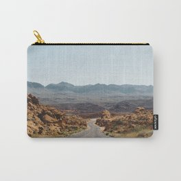 On the Desert Road Carry-All Pouch