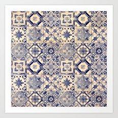 Ornamental pattern Art Print