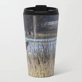 Great Blue Heron at Fern Ridge Travel Mug