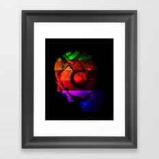 Creating Jobs Framed Art Print