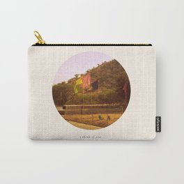 i think of you in colors that don't exist Carry-All Pouch
