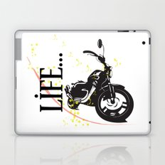 Motorcycle lifestyle  Laptop & iPad Skin