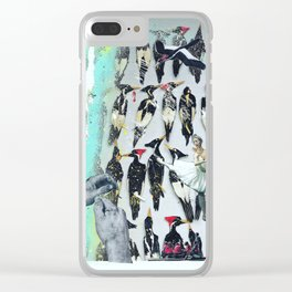 Float Away Clear iPhone Case