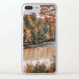 The Tahquamenon Falls Clear iPhone Case