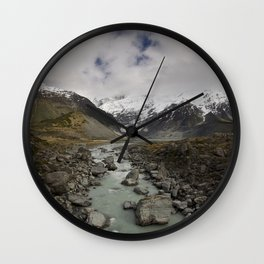 Mount Cook Wall Clock