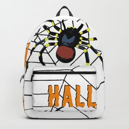 Halloween two big Spider Backpack