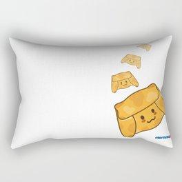 Empanada de Pino Rectangular Pillow