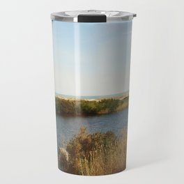 The pond by the Ocean Travel Mug