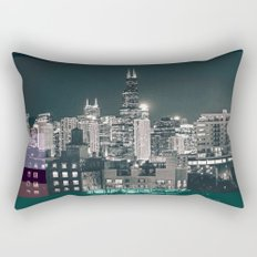 Chicago | Project L0̷SS   Rectangular Pillow