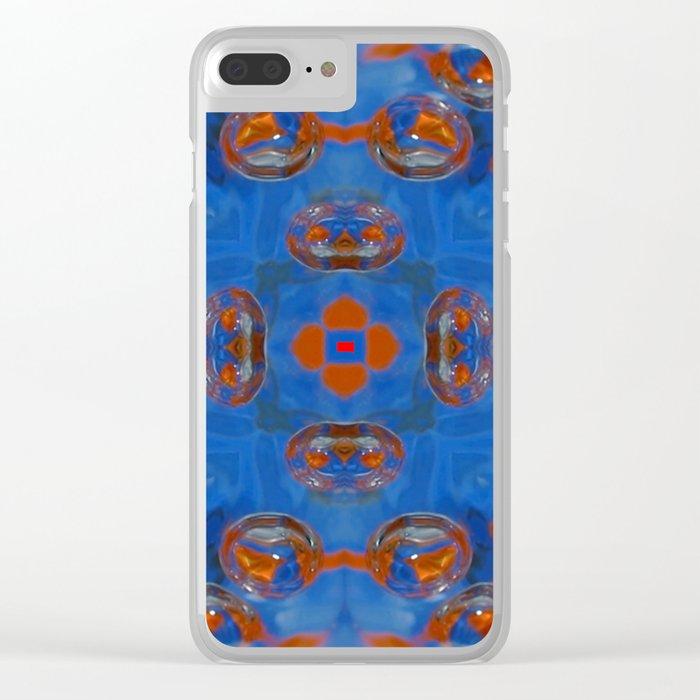 Kap Kaleidoscope Abstract 02 Clear iPhone Case