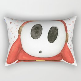 Confused Shy Guy Rectangular Pillow