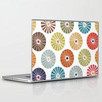 carousel Laptop & iPad Skins featuring carousel by Sharon Turner