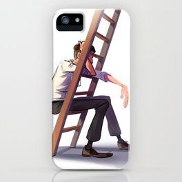 Ladder rest iPhone Case