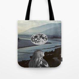 Moon Valley Dreaming Tote Bag
