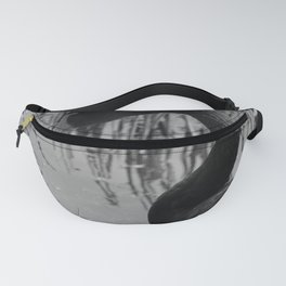 Black Swan 21 bw Donegal Ireland Fanny Pack