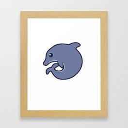 Fatimal Bottlenose Dolphin Framed Art Print