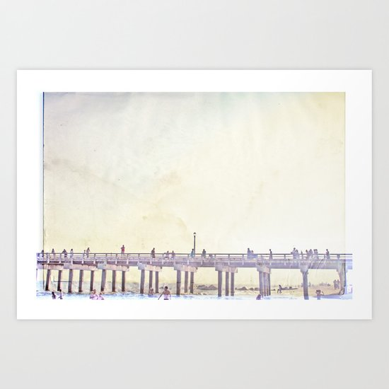 California Dreamin' in NY Art Print