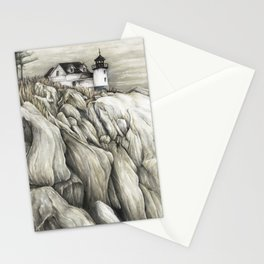 Bass Harbor Head Lighthouse Stationery Cards