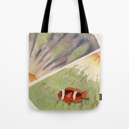 Great Barrier Reef Anemones Tote Bag