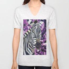 Zebra! Unisex V-Neck