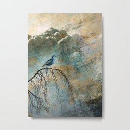 HEAVENLY BIRD II Metal Print
