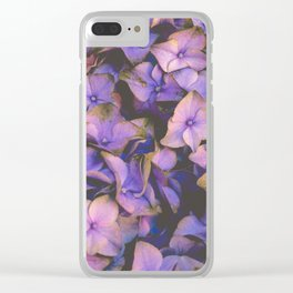 Flower XIX Clear iPhone Case