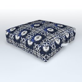Azulejo VII - Portuguese hand painted tiles Outdoor Floor Cushion