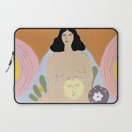 Taking care of the moon Laptop Sleeve