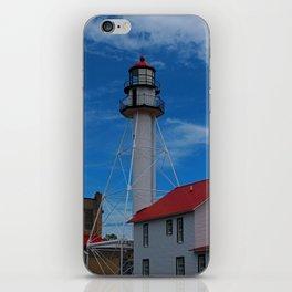 Whitefish Point Lighthouse III iPhone Skin