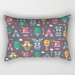 Woodland Animals | Season 1 Rectangular Pillow