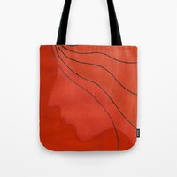 ginger Tote Bags featuring Ginger by mojekris