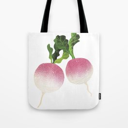 Turnip Illustration Tote Bag