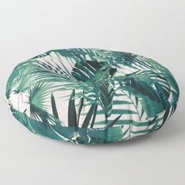 Tropical Jungle Leaves Siesta #2 #tropical #decor #art #society6 Floor Pillow