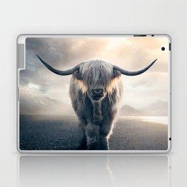 highland cattle scotland Laptop & iPad Skin