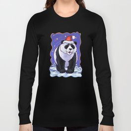 Panda Bear Christmas Long Sleeve T-shirt