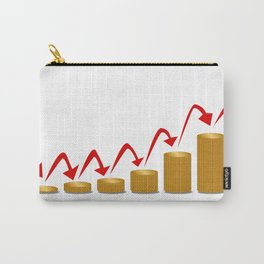 Rising Money Steps Carry-All Pouch