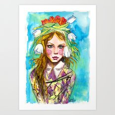 Fashion - Spring is Coming Art Print