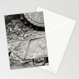 Bulldozer Dirt Fest Stationery Cards