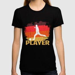 Retro Player Design T-shirt