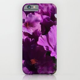 Hazy Purple iPhone Case