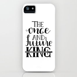 Merlin - The Once and Future King iPhone Case
