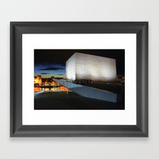 On The Roof Framed Art Print