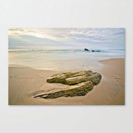The yellow horseshoe Canvas Print