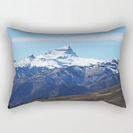 Uncompahgre Peak First Snow Rectangular Pillow