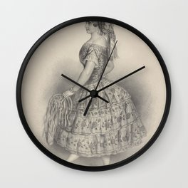 Ricci Pia creator DauthagePia Ricci written in pencil at lower rightAdditional Unidentified role Wall Clock