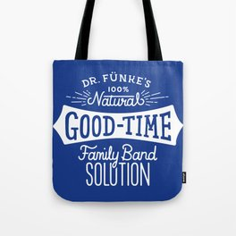 Dr. Funke's 100% Natural Good-Time Family Band Solution Tote Bag