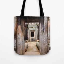 Ancient Doorway Tote Bag