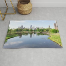 Chicago in May Rug